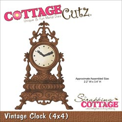 029938 Cottagecutz Die 4x4 (Vintage Clock) 1995円
