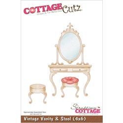 029960 Cottagecutz Die 4x6 (Vintage Vanity Stool) 2495円