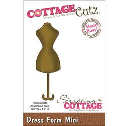 029962 Cottagecutz Mini Die 175x175 (Dress Form) 600円