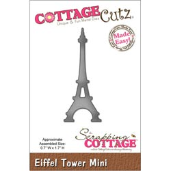 029963 Cottagecutz Mini Die 175x175 (Eiffel Tower) 600円