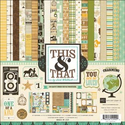 211490 [Echo Park Paper] This That Charming Collection Kit 12インチ 1400円