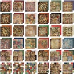 451947 [Tim Holtz] Idea-Ology Paper Stash Paper Pad 12インチ (Seasonal) 36枚 1600円