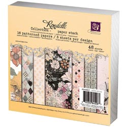 259156 [Prima] Rondelle Paper Pad 6インチ 48枚 650円