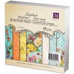 259163 [Prima] Zephyr Paper Pad 6インチ 48枚 650円