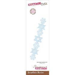 010240 CottageCutz Border Die 1x7 (Snowflake) 1295円