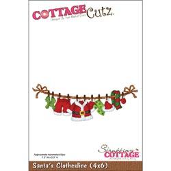 305808 CottageCutz Die 4x6 (Santas Clothesline) 2495円
