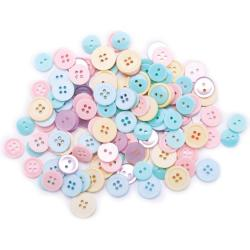 428963 Favorite Findings Buttons Assorted 130ピース (Pastels) 300円