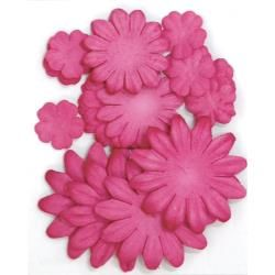 401600 [Kaisercraft] Paper Flowers 2cm, 35cm, 5cm Assorted 60ピース 400円