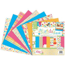 018539 [DCWV] Birthday Paper Stack 12インチ 48枚 2300円