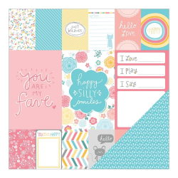 043671 [American Crafts] My Girl Cardstock 12インチ (Precious Penny) 100円