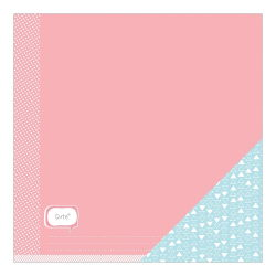 043672 [American Crafts] My Girl Cardstock 12インチ (Cute Chloe) 100円