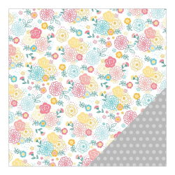 043673 [American Crafts] My Girl Cardstock 12インチ (Loveable Lily) 100円
