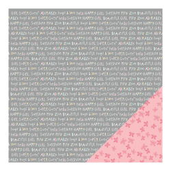 043678 [American Crafts] My Girl Cardstock 12インチ (Adorable Abby) 100円