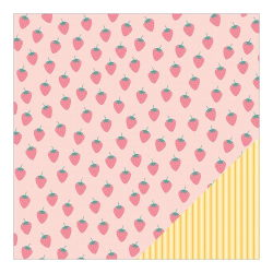 043680 [American Crafts] My Girl Cardstock 12インチ (Sweet Sa) 100円