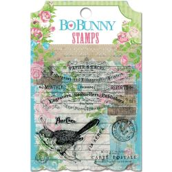 030635 [Bo Bunny] Prairie Chic Clear Stamps 4X375 400円