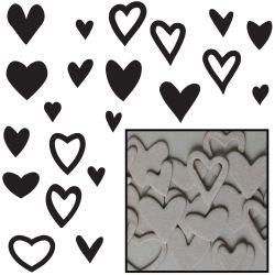 044240 [Maya Road] ミニチップボードセット60枚(Heart Confetti) 400en