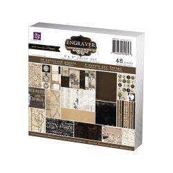 018436 [Prima] Engraver Paper Pad 6インチ 48枚 650円