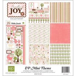 217525 [Echo Park Paper] Bundle Of Joy Collection Kit 12インチ 750円x2