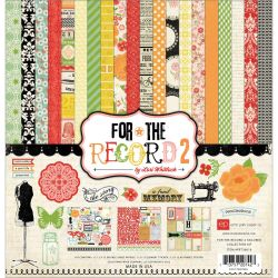 255492 [Echo Park Paper] For The Record 2 Tailored Collection kit 12インチ 1400円