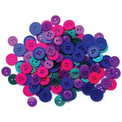 430194 Favorite Findings ボタンアソート130ピース (Jewel) 300円