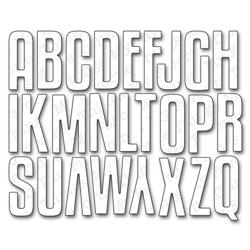462144 【予約商品】 Die-Namics Die (High-Rise Alphabet Uppercase) 3495