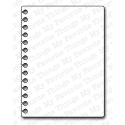 043427 Die-Namics Die (Insert It - 3x4 Notebook Paper)