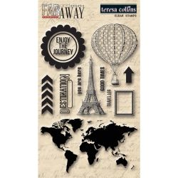 036089 [Teresa Collins] Far Away Clear Stamps 4X6 750