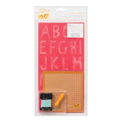 043661 [American Crafts] Amy Tangerine Embroidery ステンシルキット (inspire) 950