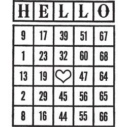 035862 [Prima] Divine クリアスタンプ 25X3 (#4 Background) 250