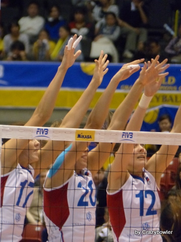 2014 Woman's World Grand Champions Cup Thailand vs. Russia