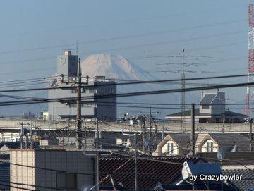足立区の富士山