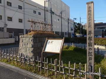 平塚宿の江戸見附(平塚市)