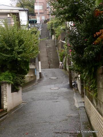 箕輪町一丁目 向方の坂