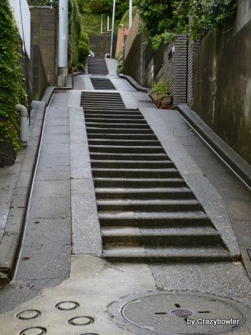 日吉2丁目の階段