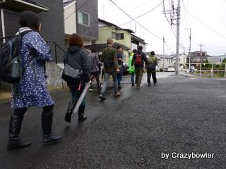 井田2丁目の尾根道より
