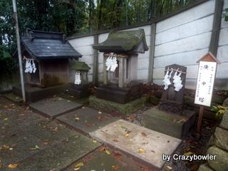 下田神社(横浜)庚申塔