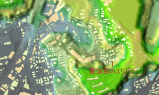 箕輪町1丁目俯瞰図(横浜市)