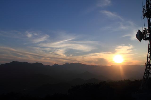 100夕陽