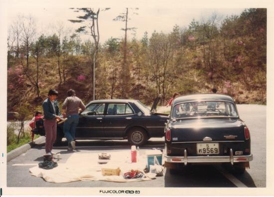<br /><br />'83年 長野県木曽郡のぞきど森林公園