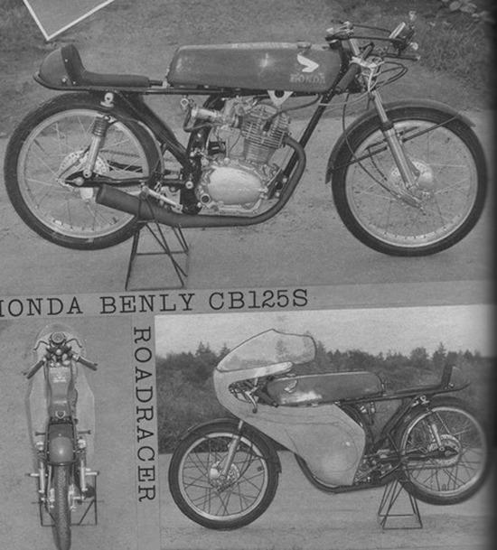 モーターサイクリストのCB125S