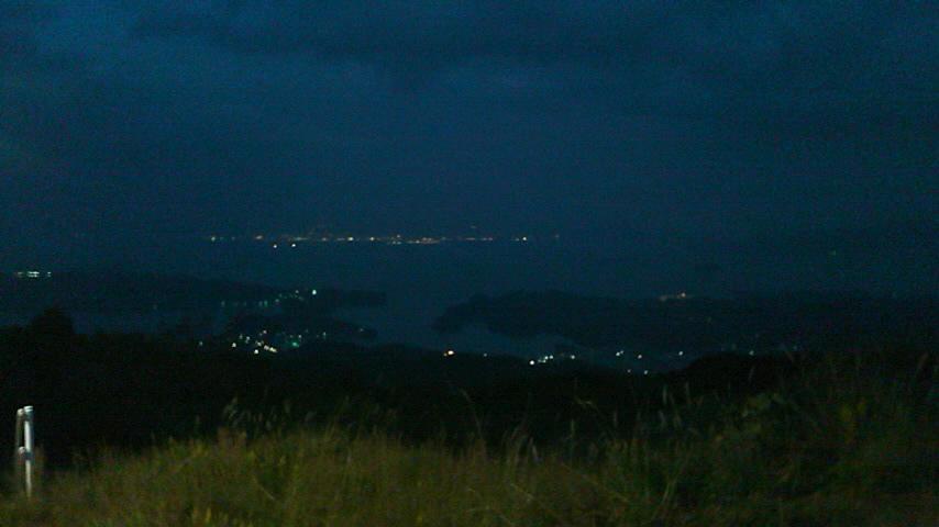 大村湾夜景