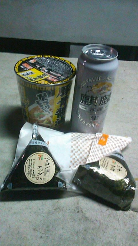 長崎野営夕食