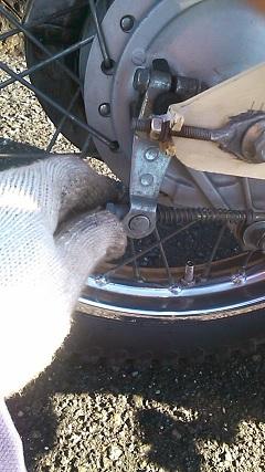 Rブレーキ調整ボルト