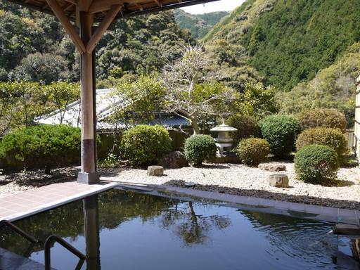 鶴の湯 露天風呂