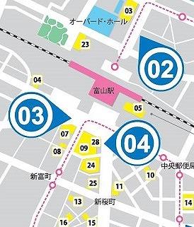 stationmap富山駅周辺