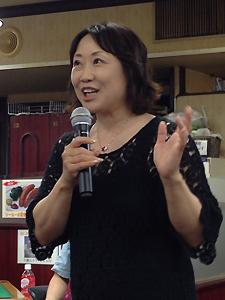 全国骨髄バンク推進連絡協議会の大谷貴子さん。