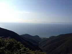 佐渡と日本海