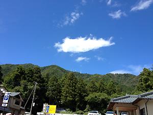 いい天気でした♪