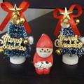 サンタさんとクリスマスツリー~門松風~