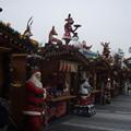 クリスマスを意識した露店